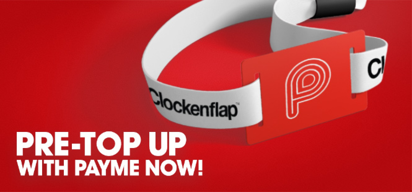 Save Yourself Time: Pre-load value to spend at Clockenflap